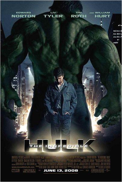 Critique de film : L'incroyable Hulk (2008) dans Critiques hulk1
